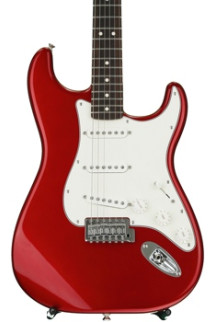 Fender Standard Stratocaster - Candy Apple Red with Rosewood Fingerboard