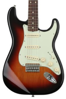 Fender Robert Cray Standard Stratocaster - 3-color Sunburst with Rosewood Fingerboard