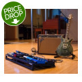 Sweetwater Studio Pedalboard Dream Package Deluxe - Includes Guitar and AmpStudio Pedalboard Dream Package Deluxe - Includes Guitar and Amp