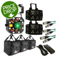 Chauvet DJ Wash FX / Swarm5 Lighting Effects PackageWash FX / Swarm5 Lighting Effects Package