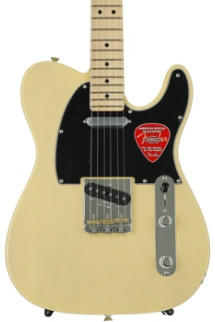 Fender American Special Telecaster, Bone Nut Upgrade, Plek'd - Vintage Blonde with Maple Fingerboard