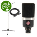 Neumann TLM 102 Package - Matte Black
