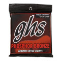 GHS TM335 Phosphor Bronze True Medium Acoustic Guitar Strings