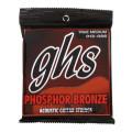 GHS TM335 Phosphor Bronze True Medium Acoustic Guitar StringsTM335 Phosphor Bronze True Medium Acoustic Guitar Strings