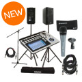 QSC TouchMix-8 with K8 Speakers and MicrophoneTouchMix-8 with K8 Speakers and Microphone
