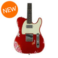Fender Custom Shop Limited Edition Heavy Relic H/S Tele - Aged Candy Apple Red over Pink PaisleyLimited Edition Heavy Relic H/S Tele - Aged Candy Apple Red over Pink Paisley