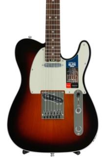 Fender American Elite Telecaster - 3-color Sunburst with Rosewood Fingerboard