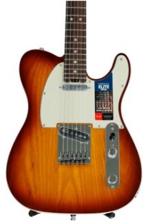 Fender American Elite Telecaster - Tobacco Sunburst with Rosewood Fingerboard