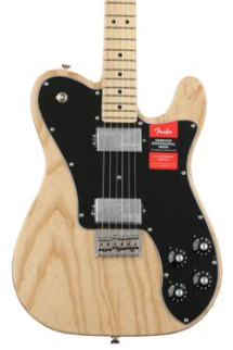 Fender American Professional Deluxe ShawBucker Telecaster - Natural with Maple Fingerboard