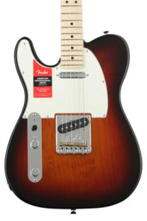 Fender American Professional Telecaster Left-handed - 3-color Sunburst with Maple Fingerboard