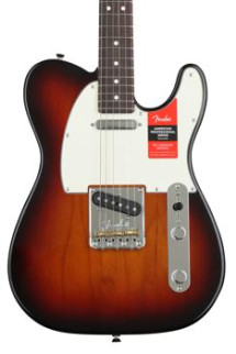 Fender American Professional Telecaster - 3-color Sunburst with Rosewood Fingerboard