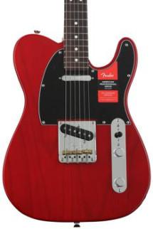Fender American Professional Telecaster - Crimson Transparent with Rosewood Fingerboard