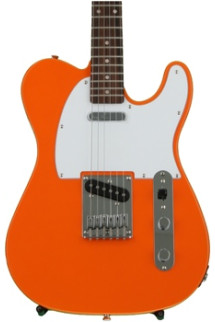 Squier Affinity Telecaster - Competition Orange with Rosewood Fingerboard