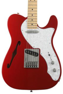 Fender Deluxe Telecaster Thinline - Candy Apple Red with Maple Fingerboard