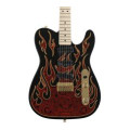 Fender James Burton Telecaster - Red Paisley Flames