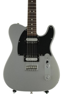 Fender Standard Telecaster HH - Ghost Silver with Rosewood Fingerboard