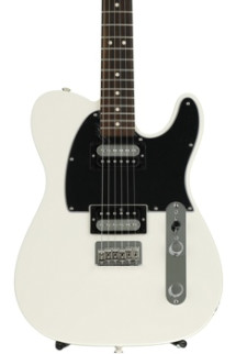 Fender Standard Telecaster HH - Olympic White with Rosewood Fingerboard