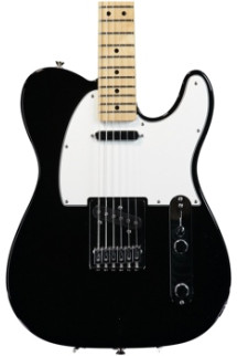 Fender Standard Telecaster - Black with Maple Fingerboard