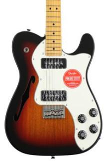 Fender Modern Player Telecaster Thinline Deluxe - 3-tone Sunburst