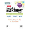 Alfred Essentials of Music Theory 1-3 - 5-user Networked Lab Pack