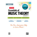 Alfred Essential of Music Theory 1-3 - Student Edition