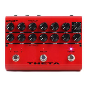 Isp Technologies Theta Preamp Distortion Pedal With