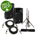 Mackie Thump 12 Speaker Pair with Stands and Cables