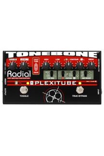 Radial Tonebone Plexitube 2-channel Tube Distortion Pedal