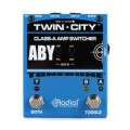 Radial Bones Twin City A-B-Y Amp SwitcherBones Twin City A-B-Y Amp Switcher