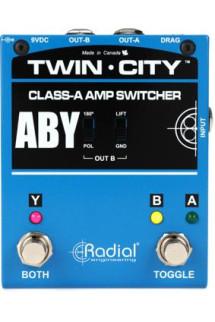 Radial Bones Twin City A-B-Y Amp Switcher