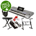 Yamaha Tyros5 61-key Essential Keyboard Bundle