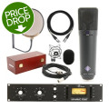 Neumann U 87 Microphone Set with Universal Audio 1176 (Matte)