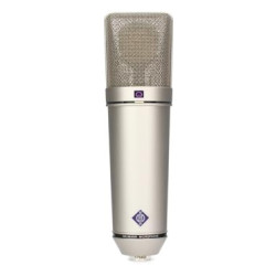 U 87 Ai Set Large-diaphragm Condenser Microphone- Nickel