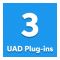 Universal Audio UAD Custom 3 Plug-in Bundle