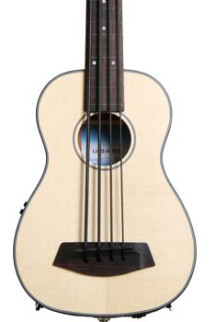 Kala U-Bass - Spruce Top, Fretless