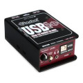 Radial USB-Pro 2-channel Active Instrument Direct BoxUSB-Pro 2-channel Active Instrument Direct Box