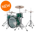 Ludwig Vistalite 45th Anniversary 4pc Shell Pack - Green SparkleVistalite 45th Anniversary 4pc Shell Pack - Green Sparkle
