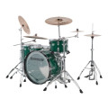 Ludwig Vistalite 45th Anniversary 4pc Shell Pack - Green Sparkle