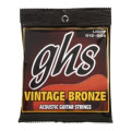 GHS VN-L Vintage Bronze 85/15 Light Acoustic Guitar Strings