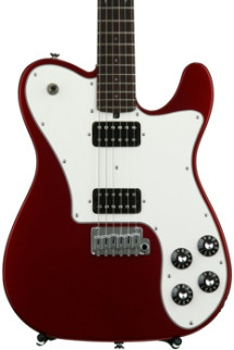 Friedman Vintage T with Humbuckers and Alder Body - Candy Apple Red with Rosewood Fingerboard