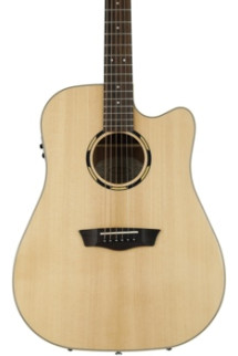 Washburn Woodline WLD20SCE Dreadnought - Natural