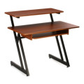 On-Stage Stands WS7500 Wooden Workstation - Rosewood
