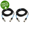 Pro Co EXM-20, 2-Pack Excellines Microphone Cable - 20'