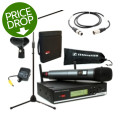 Sennheiser XSW 35 Handheld Wireless Microphone System with Stand, Case, and CableXSW 35 Handheld Wireless Microphone System with Stand, Case, and Cable