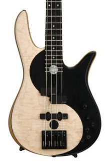 Fodera Yin Yang Standard Series I - Flame Maple Top, Natural
