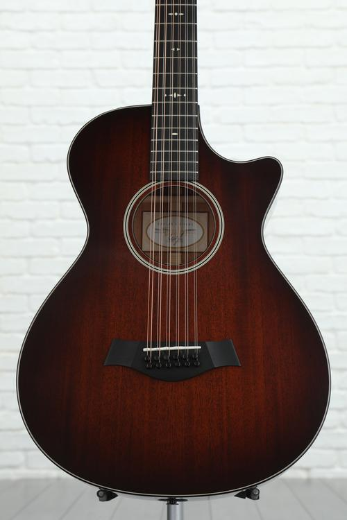 Taylor 562ce 12-fret, 12-string - Shaded Edgeburst, Mahogany back and sides