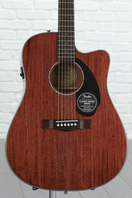 Fender CD-60SCE - Natural Mahogany