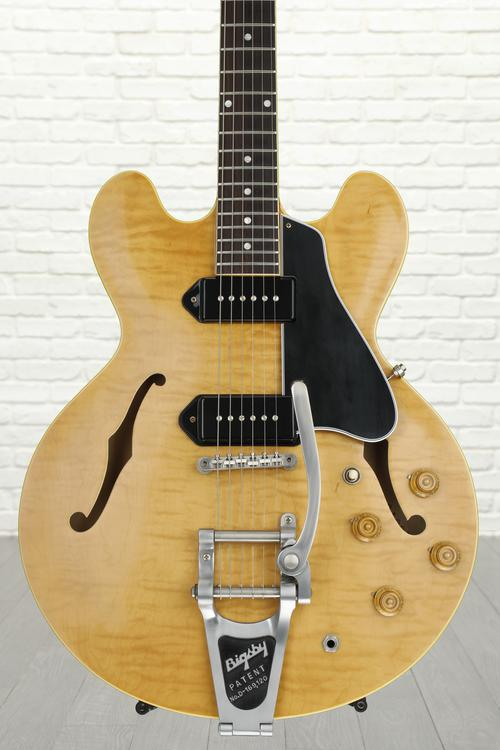 Gibson Memphis 1961 ES-330 Figured - Dark Natural