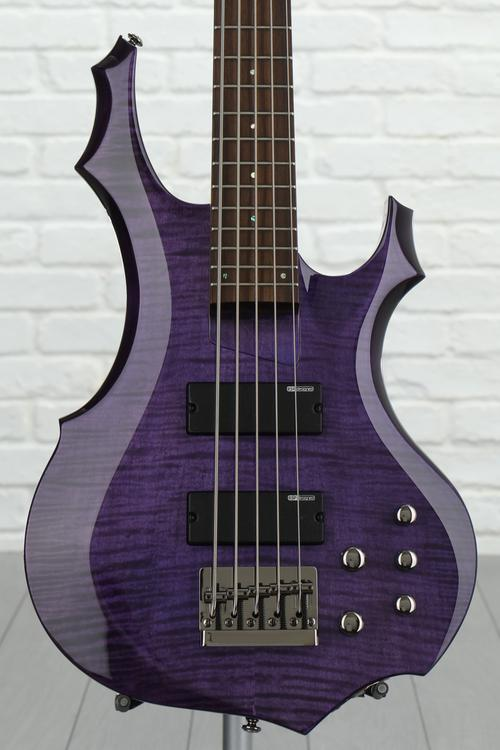ESP LTD F-155DX - Dark See Thru Purple