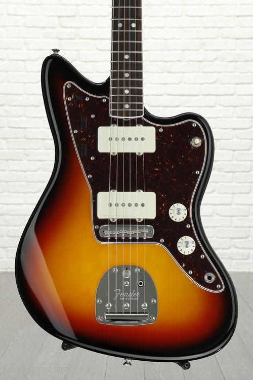 Fender American Vintage \'65 Jazzmaster - 3-color Sunburst with Rosewood Fingerboard image 1